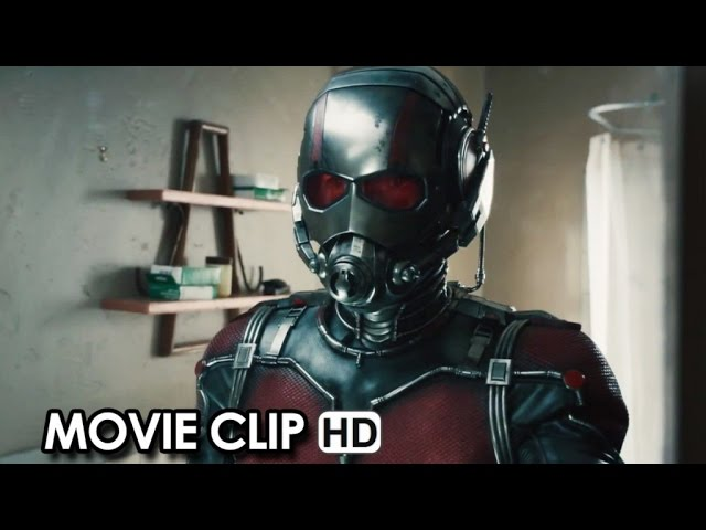 Ant-Man Movie CLIP #1 (2015) - Paul Rudd, Michael Douglas HD