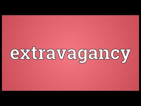 Header of extravagancy