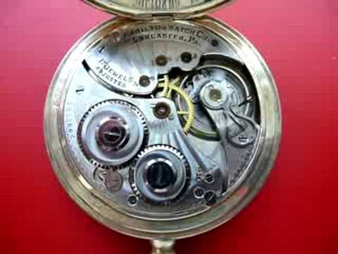 Hamilton 910 Movement Pocket Watch