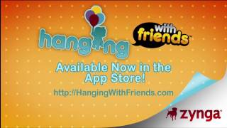 Hanging With Friends iPhone/iPod Launch Trailer