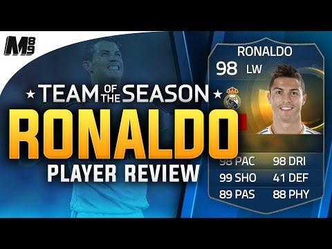 FIFA 15 TOTS RONALDO REVIEW (98) FIFA 15 Ultimate Team Player Review + In Game Stats