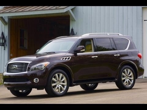 2013 Infiniti QX56 Start Up and Review 5.6 L V8