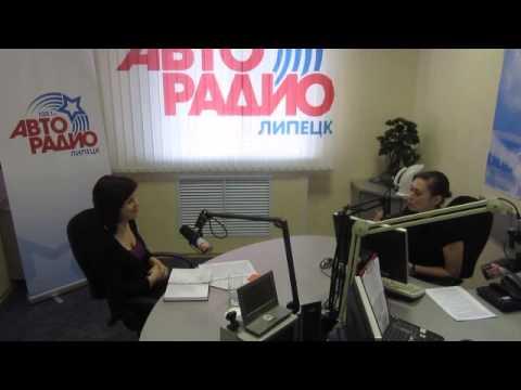 """Елена Бадулина в программе """"Народ Хочет Знать"""" на Авторадио- Липецк."""