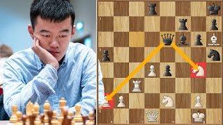 Closing in on Tal   Ding Liren vs Efimenko    ECCC (2018)