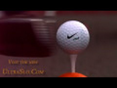 NEW Golf ball @4000FPS in UltraSlo slow motion