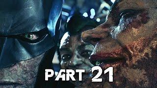 Batman Arkham Knight Walkthrough Gameplay Part 21 - Joker's Advocate (PS4)