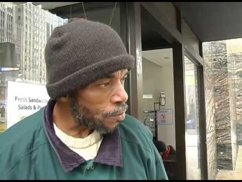 Homeless Chicago Man Ronald Davis (Homeless Man Interview)
