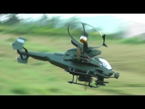 Pandora Warrior Gunship RC Helicopter Flight Review