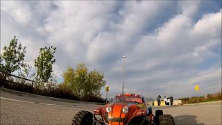 Following rc car [FPV freestyle]