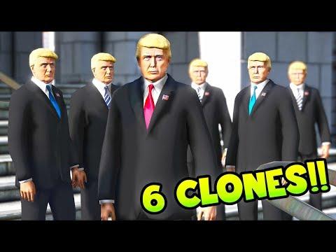 Download  I cloned Mr President and then did THIS!! GTA 5 Mods Gameplay Gratis, download lagu terbaru