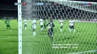 Santa Cruz 2x1 Betim - Melhores momentos na voz de Aroldo Costa - Série C 2013