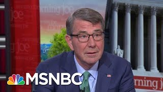 Ash Carter: My Book Is A Guide To The Pentagon | Morning Joe | MSNBC