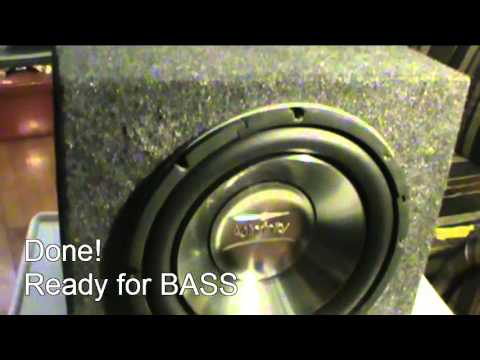 Robust Subwoofer - Infinity Reference 1060W replacement