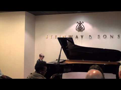 Ben Fairman performs Strange Things Happen - at Steinway Hall, London