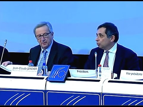 EESC debate with Jean-Claude Juncker, President of the European Commission 18-02-2015