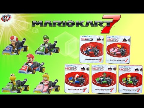 Mario Kart 7 Racers Toy Review, Gacha Tomy