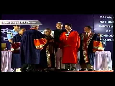 President Pranab Mukherjee's visit to Rajasthan
