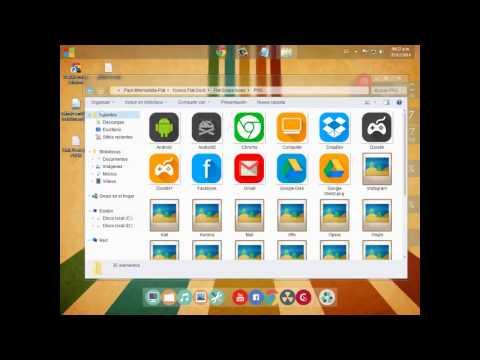 Personalizacion Windows 7 2015 - Estilo Minimalista Flat (Full)