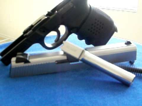 Smith & Wesson Sigma 40 cal - Finished Polished Barrel