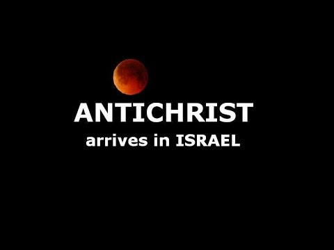 1st Blood Moon (april 2014) --- Antichrist Arrival In Israel (may 2014) ::. [*news] video