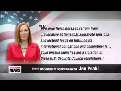 U.S. says North Korea missile launches violate UN Security Council resolutions