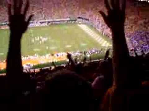 2004 Tennessee Vols vs Florida final field goal Video
