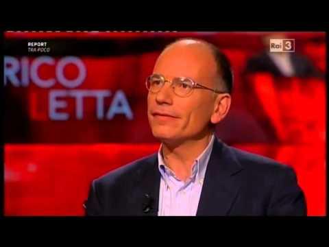 Enrico Letta - Che tempo che fa 17/04/2016