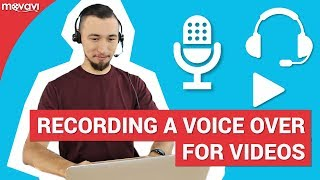 How to record a voice over for your videos