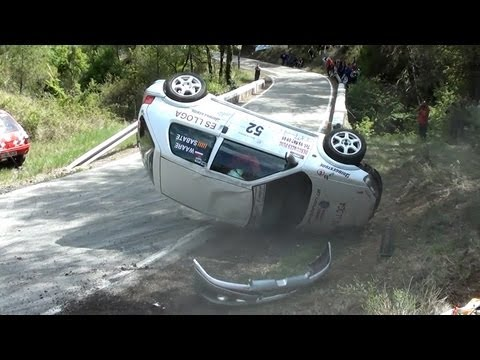 Rally Igualada 2012 (Recopilación trompos y accidentes) HD