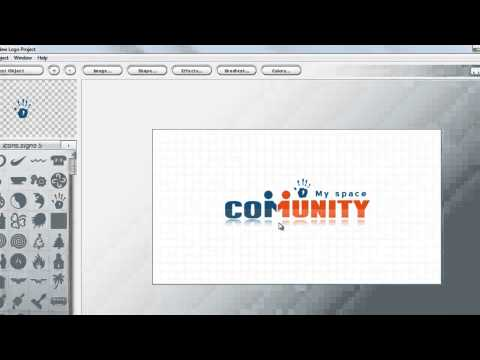Фотошоп онлайн как сделать логотип