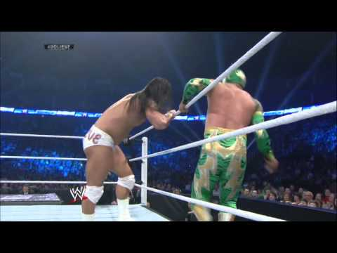 Bo Dallas Debuts Against Sin Cara: Smackdown, May 23, 2014 video
