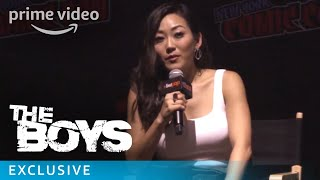 The Boys - NYCC 2018 - Featurette: What Drew Karen Fukuhara to The Female | Prime Video