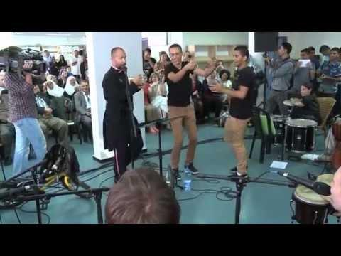 Koncert ve škole A TUR | Izrael 2014