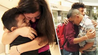 Families Reunited After Being Separated at U.S. Border
