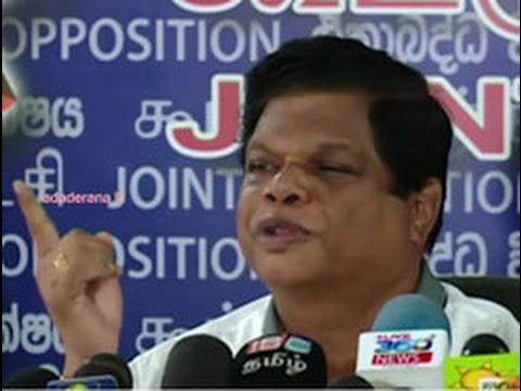 bandula accuses govt|eng