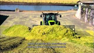 Claas, Axion, 900, 950, 920, 930, 940, CMotion, CEBIS, Video, landwirtcom, landwirt.com, Landvideo, Traktor, tractor, tracteur, Trekker, Trecker, Schlepper, Xerion, Xerion5000, 3300, Landtechnik, Agrartechnik, ZF, Eccom