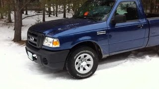 2011 Ford Ranger -32 Cold Start ( 2.3L 4 Cylinder )