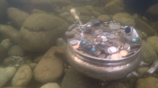 Lost Treasure discovered at the bottom of a fish pond in Meridian, Idaho