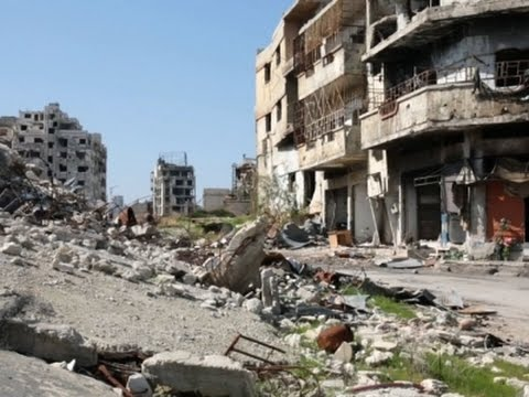 Raw: Syrian Rebel City Homs Now a 'Ghost Town'
