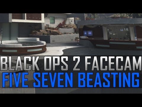 Black Ops 2 Five Seven Beasting! - Triple Kill + Wallbang! (Dutch Live Commentary)