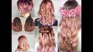30 Trendy Rose Gold Balayage Inspiration for Spring 2018