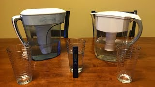 Zero Water vs Brita Water Filter TDS Test!  Which Is the Best Filter?  - NTR