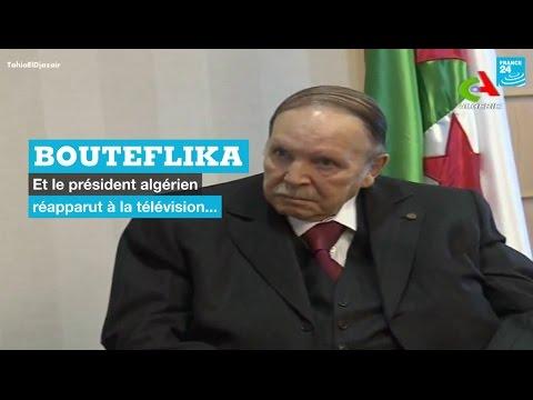Algérie : le président Abdelaziz Bouteflika réapparaît à la télévision