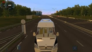 City Car Driving Mercedes Sprinter (0-100)Son Hız(Top Speed)