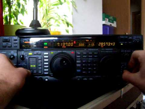 DO5BFH / Yaesu FT-1000MP / Zweiter Test mit reparierter DSP