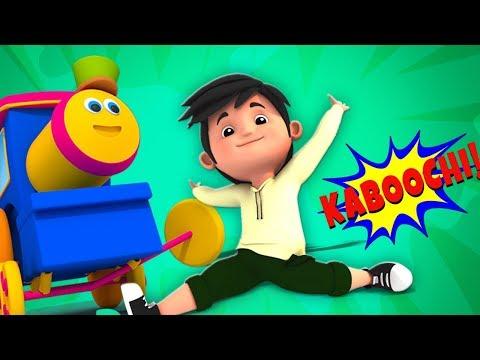بوب القطار| رقصة كابوشى| اغنية رقص اطفال | Kaboochi Song | Bob The Train Arabic - أغاني أطفال thumbnail