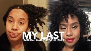 My Last Natural 4C Hair Tutorial Ever