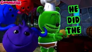 MONSTER MASH Lyric Video Gummy Bear Song for Halloween
