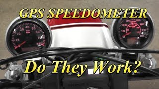 GPS Speedometer Do They Work?