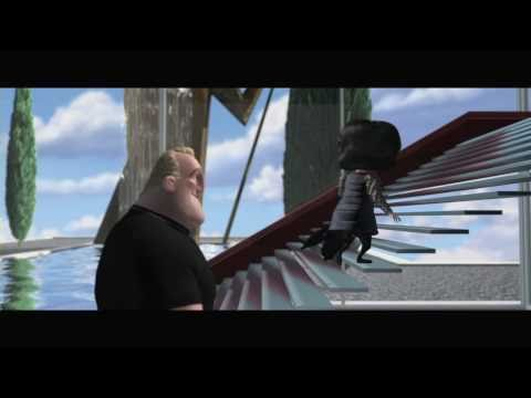 """The Incredibles on Blu-ray: """"Convincing Edna"""" - Clip"""